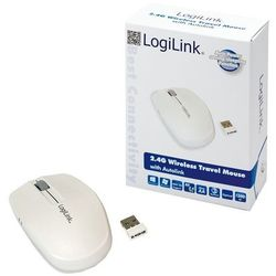 Mysz LogiLink Bezprzewodowa, 2.4 GHz z funkcją autolink (ID0115) Darmowy odbiór w 15 miastach!, kup u jednego z partnerów