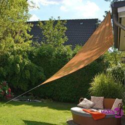 żagiel ogrodowy, trójkątny, 3,6 x 3,6 x 3,6 m, beżowy marki Hi