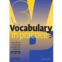 Vocabulary In Practice 3 Pre-Intermediate (9780521753753)