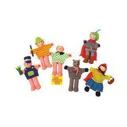 Czerwony Kapturek pacynki - Bigjigs Toys Ltd - produkt z kategorii- pacynki i kukiełki