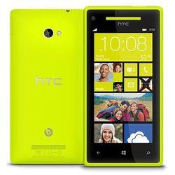 HTC Windows Phone 8X 16GB Żółty - Żółty \ 2 lata na terenie całego kraju + polskie menu + bez sim locka