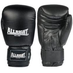 Rękawice bokserskie Allright PVC czarne - sprawdź w wybranym sklepie