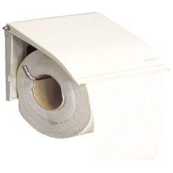Uchwyt na papier toaletowy stal biała marki Merida