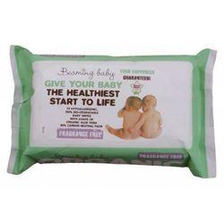 Bezzapachowe Organiczne Chusteczki Nawilżane, Beaming Baby, 72 szt. z kategorii Chusteczki dla niemowląt
