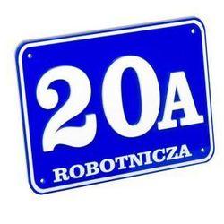 Tabliczka adresowa, tablica numer, numery dom 3d format 20x15 marki Select