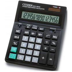 Citizen Kalkulator sdc664s