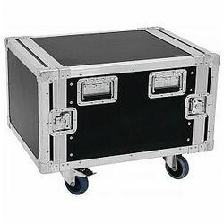"ROADINGER Rack Profi KM 6U 55cm Uniwersalny case 19"" z kółkami (4026397529562)"