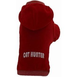 GRANDE FINALE Bluza B02 Cat Hunter czerwona - produkt z kategorii- Ubranka dla psów