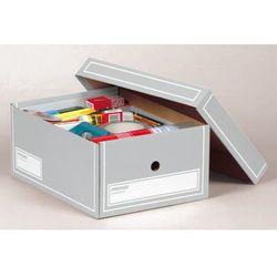 pudło archiwizacyjne a4 350x255x155mm szary, 10 sztukac marki Pressel