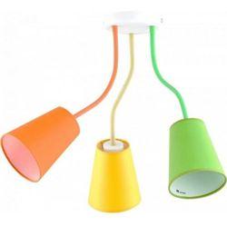 Wire Colour Dziecięca TK Lighting 2106 106cm pomarańczowy żółty zielony
