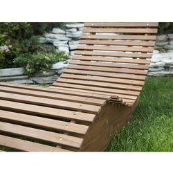 Beliani Leżanka ogrodowa drewno akacjowe brescia (4260602374343)
