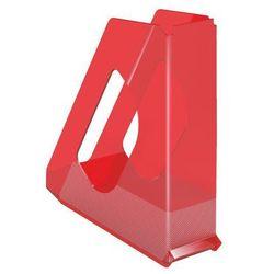 Pojemnik  europost solea a4/70mm, 623566 przezroczysty-czerwony od producenta Esselte