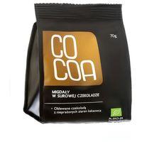 Cocoa : migdały w surowej czekoladzie bio - 70 g (5908268768128)