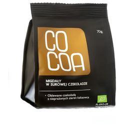 : migdały w surowej czekoladzie bio - 70 g wyprodukowany przez Cocoa