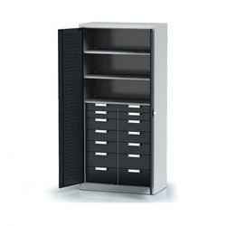 Szafa warsztatowa - 3 półki, 14 szuflad