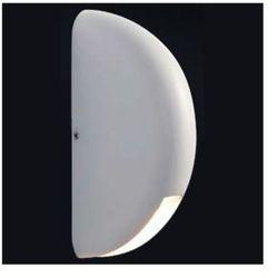 Elewacyjna LAMPA ścienna MILA 088 kinkiet OPRAWA LED 3W do ogrodu IP44 outdoor biała