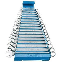 Unior Zestaw kluczy płasko-oczkowych 6-22 17szt. długi na metalowym stojaku (605537) 120/1ms (3838909055374)