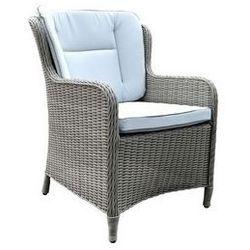 Miloo:: Fotel obiadowy z poduszkami Grace