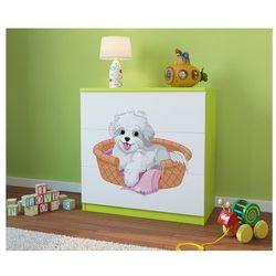 Komoda dziecięca babydreams piesek kolory negocjuj cenę marki Kocot-meble
