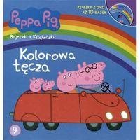 Kolorowa tęcza Peppa Pig