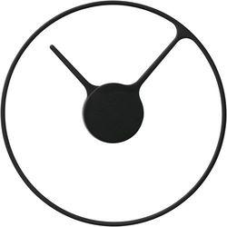 Zegar ścienny Stelton 30 cm (851), kolor czarny