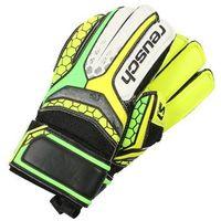 Reusch RE:PULSE Rękawice bramkarskie safety yellow/green gecko z kategorii Pozostały sport dla dzieci