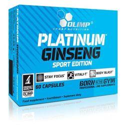 PLATINUM GINSENG™ SPORT EDITION 550 mg - produkt z kategorii- Witaminy i minerały dla sportowców