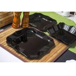 LUMINARC AUTHENTIC BLACK Serwis obiadowy 18/6, kolor czarny
