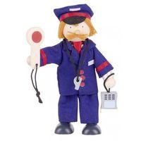 Kukiełka konduktor - zabawki dla dzieci