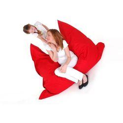 Pufa worek 140 x 180 cm czerwony (4260580933907)