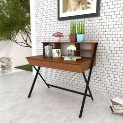 biurko z dwoma szufladami, marki Vidaxl