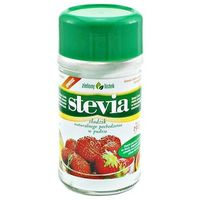 Zielony listek domos Stevia stewia naturalny słodzik w pudrze puder 150g - zielony listek