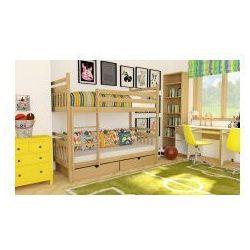 Łóżko piętrowe kasia z materacami marki 39