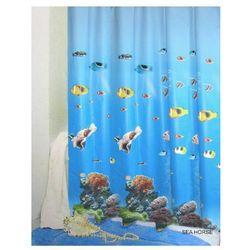 Zasłonka prysznicowa sea horse , 180x200 cm marki Nice sea