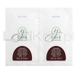 Yo Cond Caramello pielęgnacja koloryzująca karmel saszetki 2 x 15 ml Kemon - oferta [a5c0d0a89ff3d6f5]