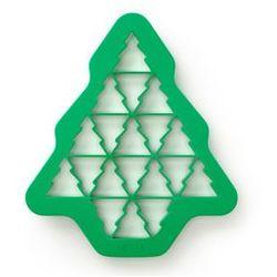 Forma do wykrawania ciasteczek Puzzle Choinka - produkt z kategorii- Formy do pieczenia
