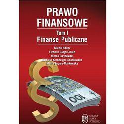 Prawo finansowe. Tom 1. Finanse publiczne (ilość stron 344)
