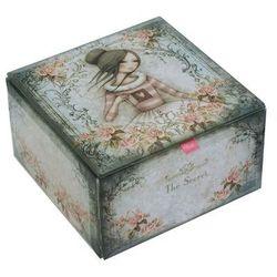 Mirabelle, The Secret, szklane pudełko na ozdoby z kategorii Pozostałe artykuły szkolne i plastyczne