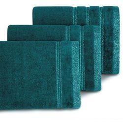 Ręcznik Glory 70x140 Eurofirany ciemny turkus, 7155