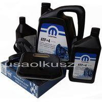 Mopar Olej  atf+4 6,89l oraz filtr oleju oleju skrzyni biegów 42re dodge ram 1998-2009