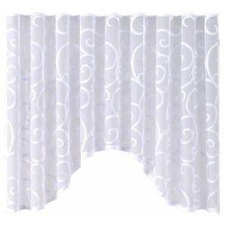 My best home Firana scroll 300 x 150 cm biała (5908262408082)