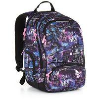 Plecak młodzieżowy Topgal HIT 889 I - Violet, kolor fioletowy