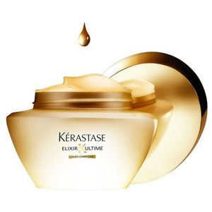 elixir ultime maska z olejkami szlachetnymi do wszystkich rodzajów włosów oleo-complexe (beautifying oil masque) 200 ml marki Kérastase