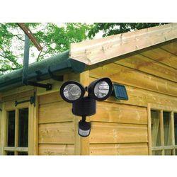 Podwójna lampa solarna z czujnikiem ruchu 22 super mocne diody SMD - szczegóły w Trampoliny
