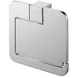 Uchwyt wc z klapką kolekcji futura silver 02991 marki Bisk