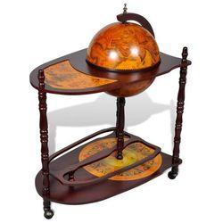 Vidaxl Globobar ze stolikiem, drewniany