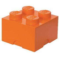 Room copenhagen Pojemnik lego 4 pomarańczowy - lego pojemniki