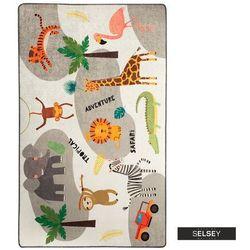 Selsey dywan do pokoju dziecięcego dinkley safari 100x160 cm