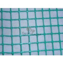 Siatka rabatowa ogrodzeniowa zielona 0,4x50m (oczko 15x15mm) marki Folie majda