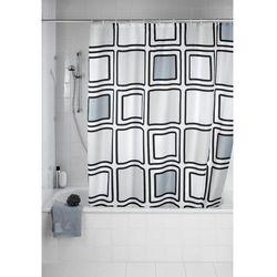 Zasłona prysznicowa mono, tekstylna, 180x200 cm, marki Wenko